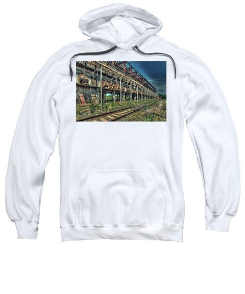 Industrial Archeology Railway Silos - Archeologia Industriale Silos Ferrovia Sweatshirt