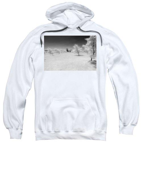 Infrared Peach Orchard Sweatshirt