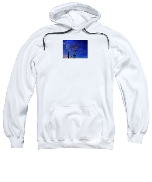 Sweatshirt featuring the photograph Inspiration by Dee Flouton