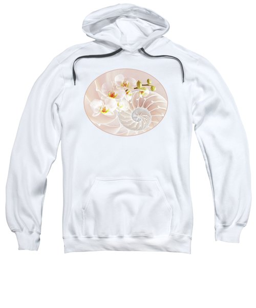 Intimate Fusion In Soft Pink Sweatshirt by Gill Billington