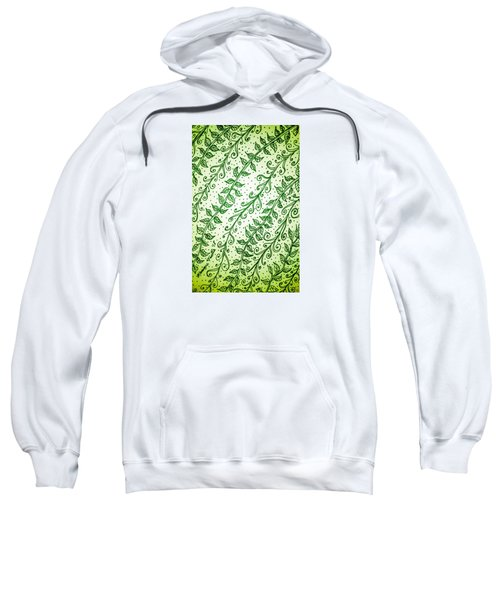 Into The Thick Of It, Green Sweatshirt