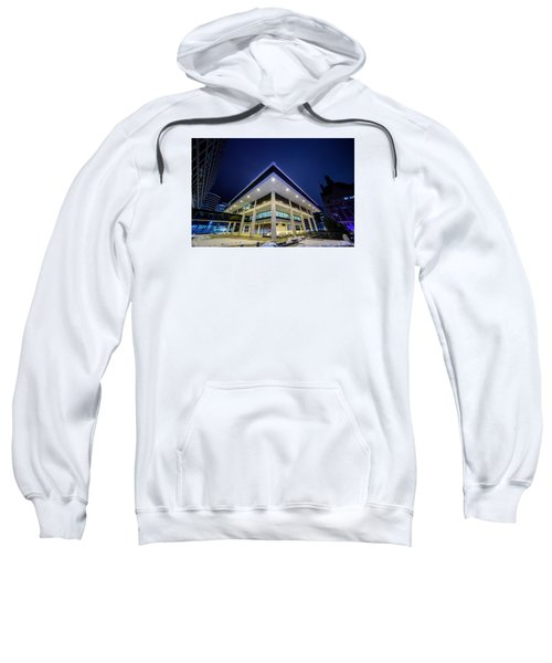 Inverted Pyramid Sweatshirt by Randy Scherkenbach