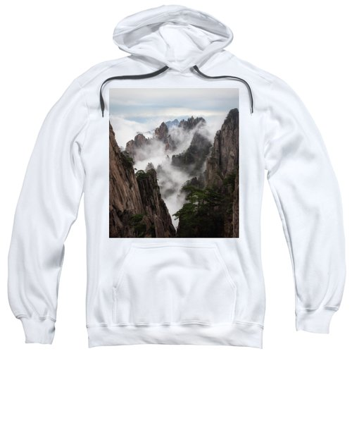 Invisible Hands Painting The Mountains. Sweatshirt