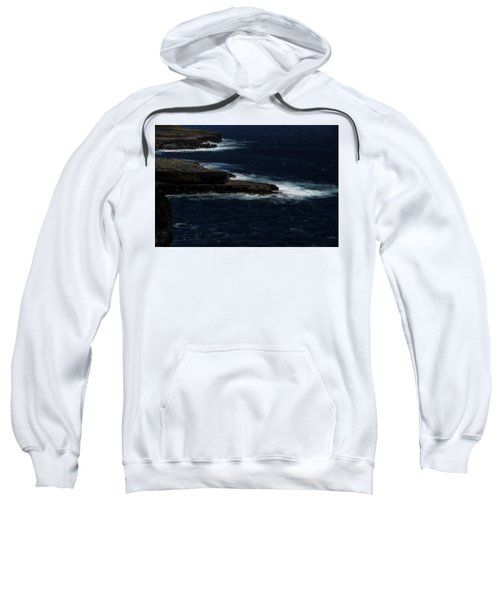 Ireland Inishmore Aran Island Coastal Landscape Sweatshirt