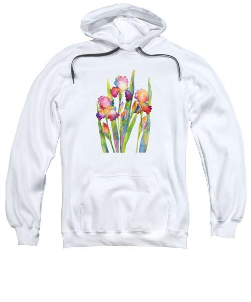 Iris Elegance Sweatshirt by Hailey E Herrera