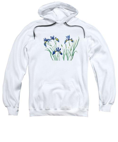 Iris In Japanese Style Sweatshirt