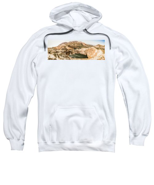 Iron Blow Lookout, West Coast Tasmania Sweatshirt