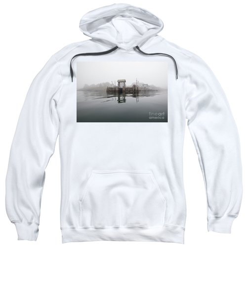 Island Boat Dock Sweatshirt