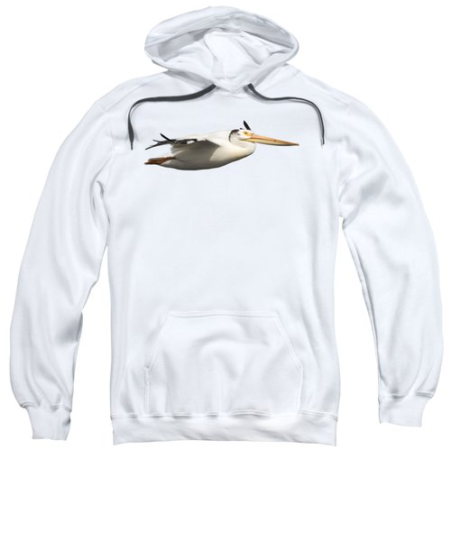 Isolated Pelican 2016-1 Sweatshirt by Thomas Young