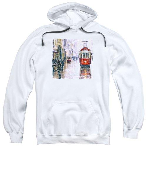 Istanbul Nostalgic Tramway Sweatshirt