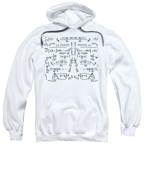 Sweatshirt featuring the drawing It Figures... by ReInVintaged