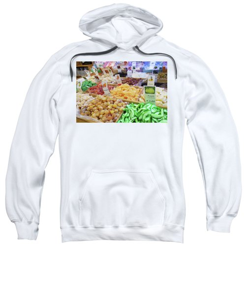 Italian Farmers Market Dried Fruits Sweatshirt