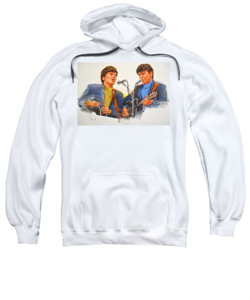 Its Rock And Roll 4  - Everly Brothers Sweatshirt