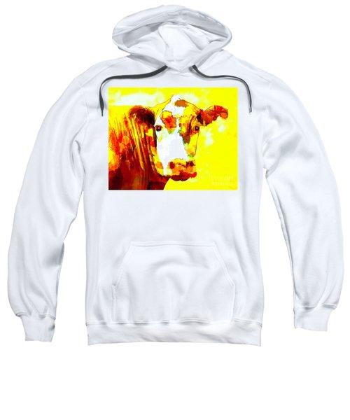 Yellow Cow Sweatshirt
