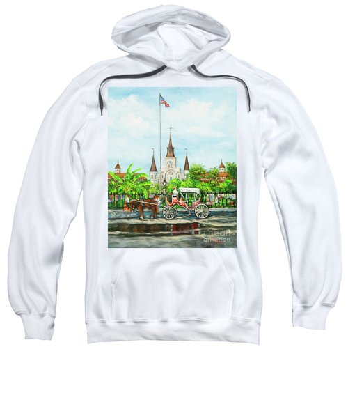 Jackson Square Carriage Sweatshirt