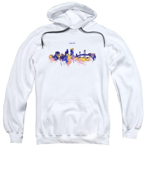 Jacksonville Skyline Silhouette Sweatshirt