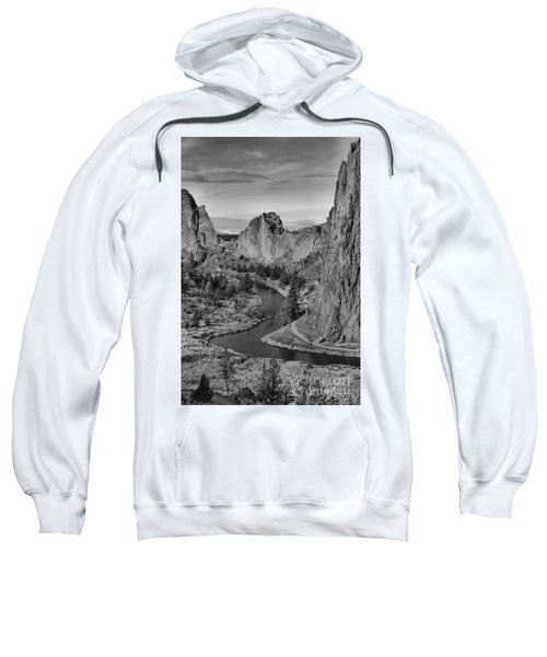 Jagged Peaks And The Crooked River Sweatshirt