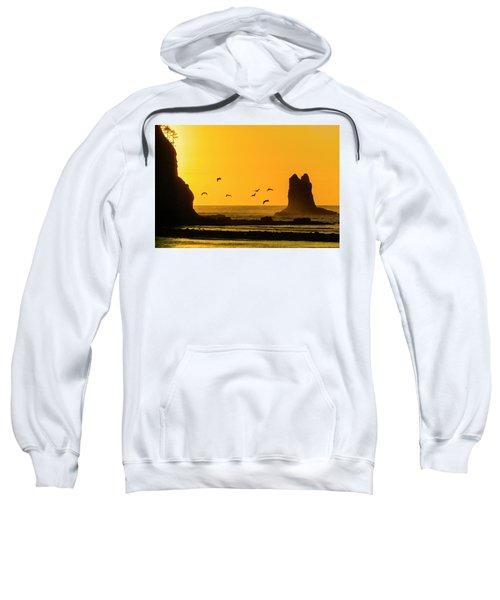 James Island And Pelicans Sweatshirt