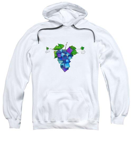 Jamurissa - Square Grapes Sweatshirt by Cersatti