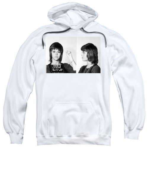 Jane Fonda Mug Shot Horizontal Sweatshirt