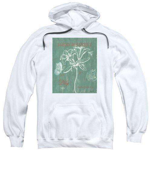 Jardin Botanique Aqua Sweatshirt