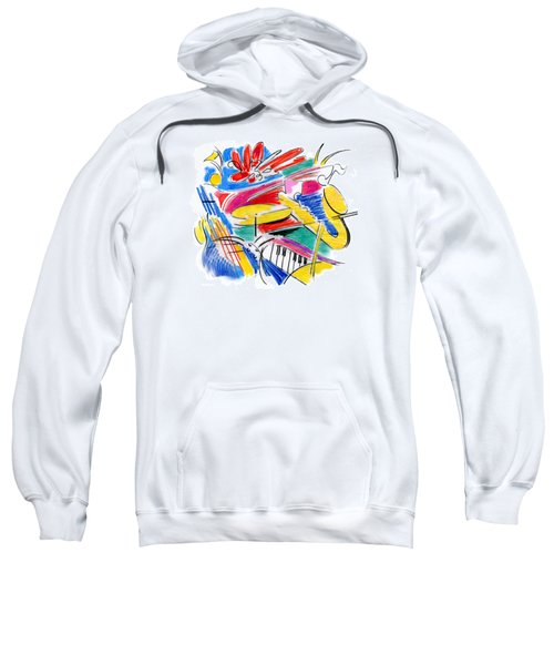 Jazz Art Sweatshirt