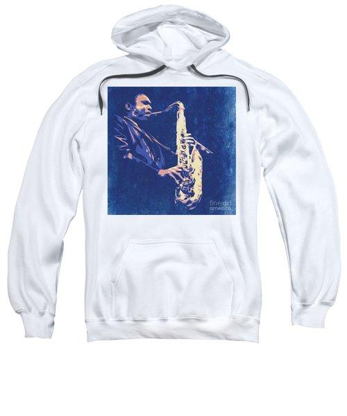 Jazz On S Stage Sweatshirt