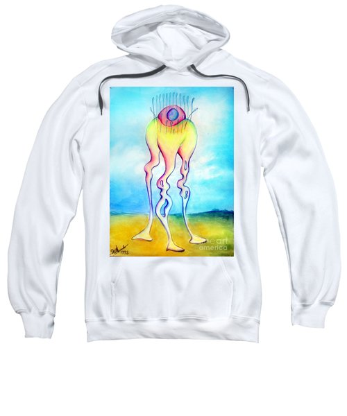 Jelly-alike Form Of Life. Space Alien Sweatshirt