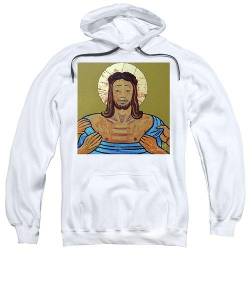 Jesus Is Stripped Sweatshirt