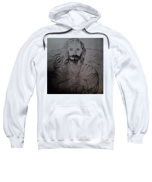 Jesus Light Of The World Full Sweatshirt
