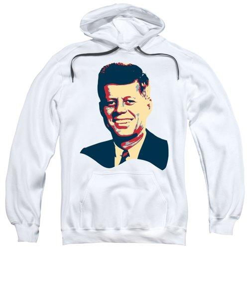 John F Kennedy Color Pop Art Sweatshirt