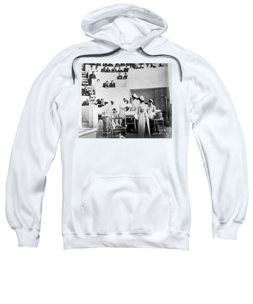 John Hopkins Operating Theater, 19031904 Sweatshirt