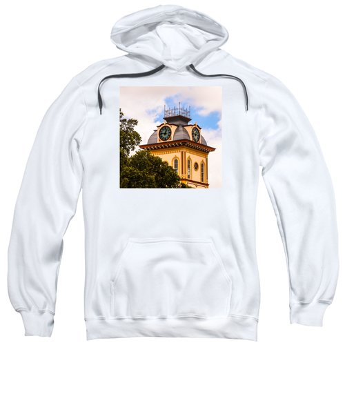 John W. Hargis Hall Clock Tower Sweatshirt