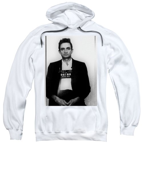 Johnny Cash Mug Shot Vertical Sweatshirt