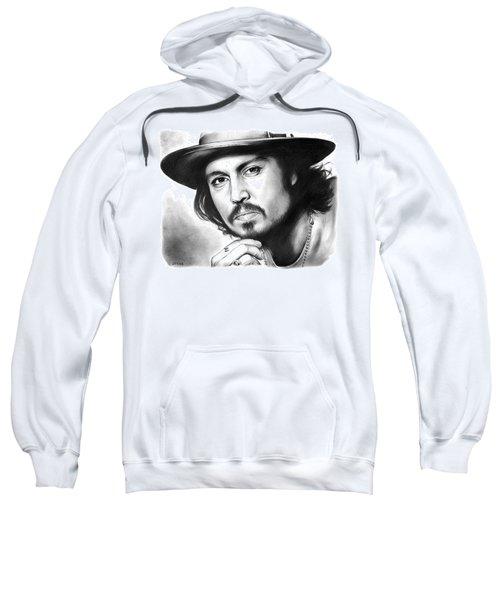 Johnny Depp Sweatshirt by Greg Joens