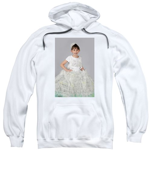 Josette In Dryer Sheet Dress Sweatshirt