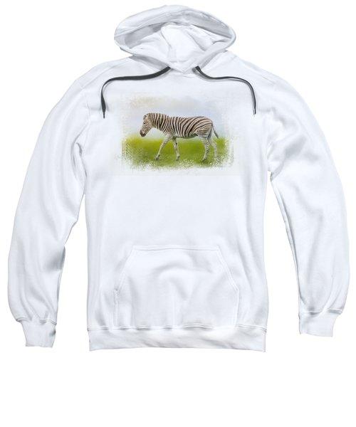 Journey Of The Zebra Sweatshirt by Jai Johnson