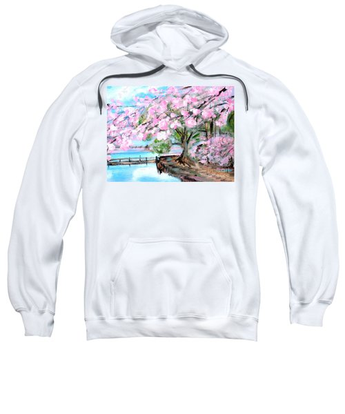 Joy Of Spring. For Sale Art Prints And Cards Sweatshirt