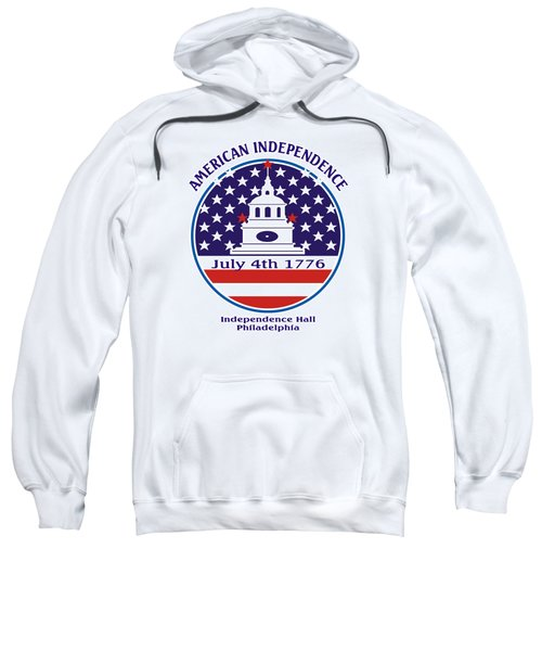 July 4th 1776 - American Independence Day Design Sweatshirt