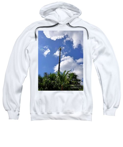 Sweatshirt featuring the photograph Jungle Bungee Tower by Francesca Mackenney