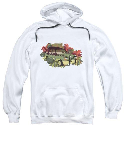Jurassic Car Sweatshirt