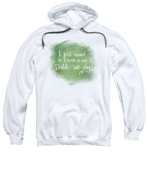Just Color Sweatshirt
