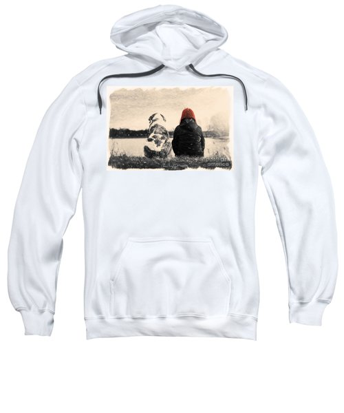 Just Sitting In The Morning Sun Sweatshirt