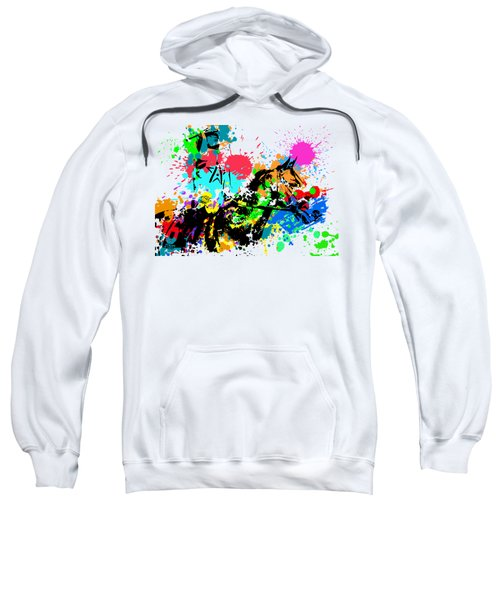 Justify Pop Art Sweatshirt