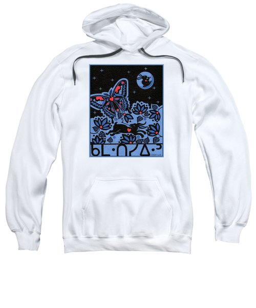 Sweatshirt featuring the painting Kamwatisiwin - Gentleness In A Persons Spirit by Chholing Taha