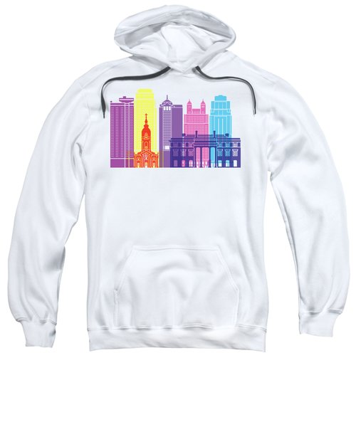 Kansas City_v2 Skyline Pop Sweatshirt
