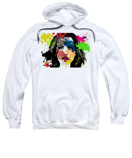 Kate Beckinsale Pop Art Sweatshirt