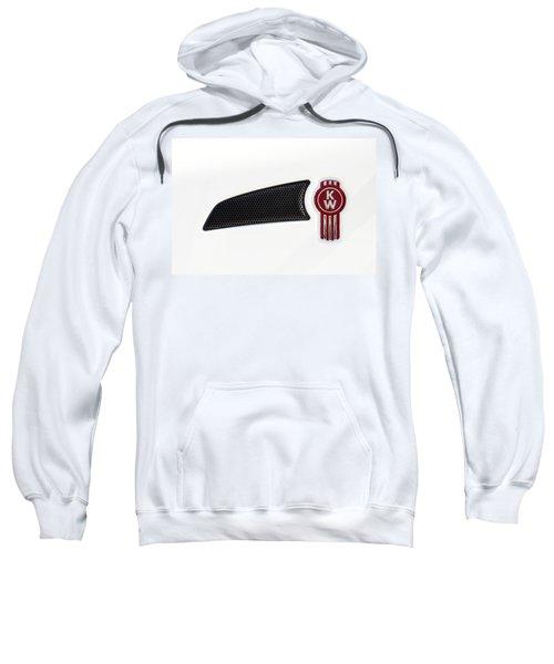 Ken Worth White Tractor 041418 Sweatshirt