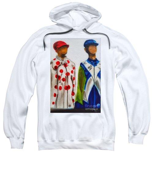 Kentucky Derby Jockey Mannequins Sweatshirt