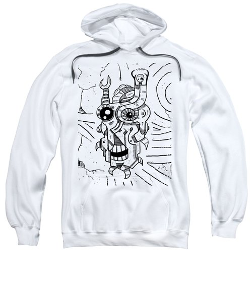 Killer Robot Sweatshirt by Sotuland Art